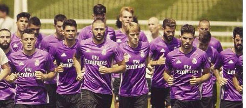Entrenamiento del Real Madrid |Foto: Instagram