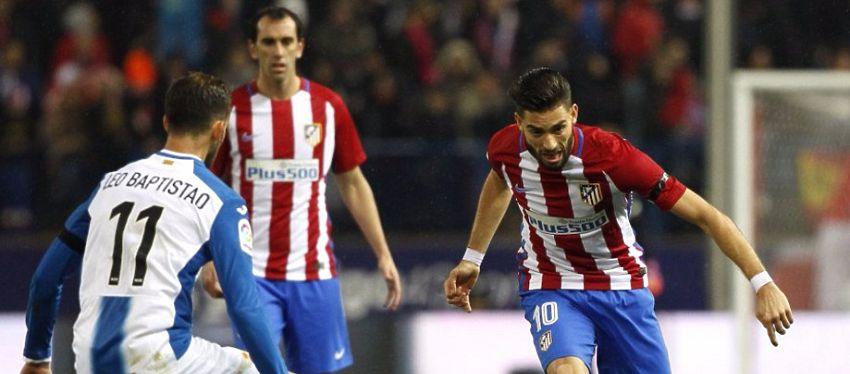 El Atlético no logró derribar el muro perico y se mantiene cuarto en la clasficación. Foto: Twitter.