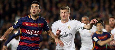 Barça y Madrid siguen siendo los reyes de Internet en medio mundo. Foto: Twitter.