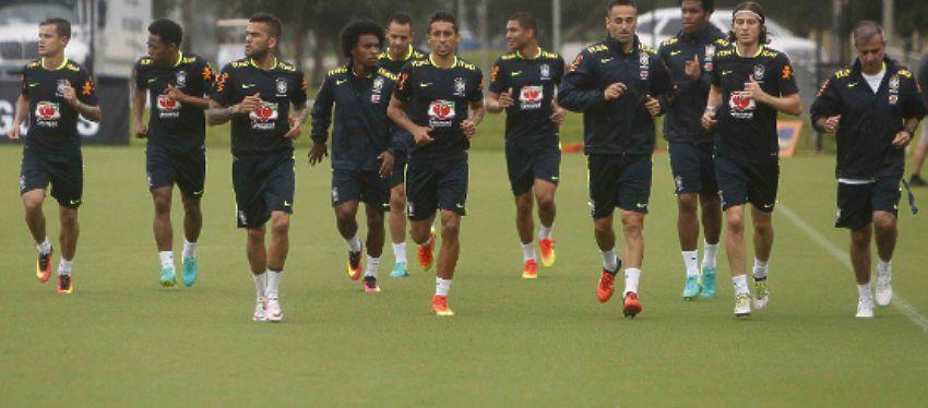 Selección de Brasil | Foto: @CBF_Futebol