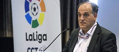 Javier Tebas anuncia su dimisión