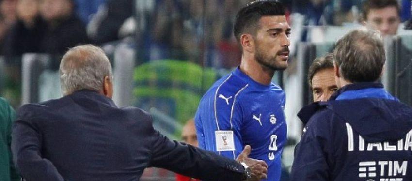 La seleccionador Piero Ventura fue contundente tras la reacción de Pellè. Foto: Twtiter.