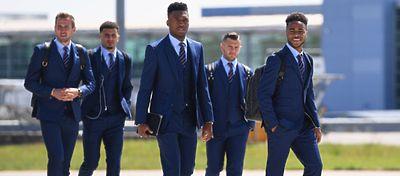 Varios jugadores selección Inglesa | Foto: @England