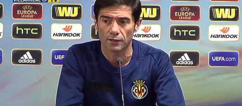 Marcelino en rueda de prensa: 'No hice nada para alterar la competición'