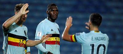 Benteke marca el gol más rápido en toda la historia de los Mundiales