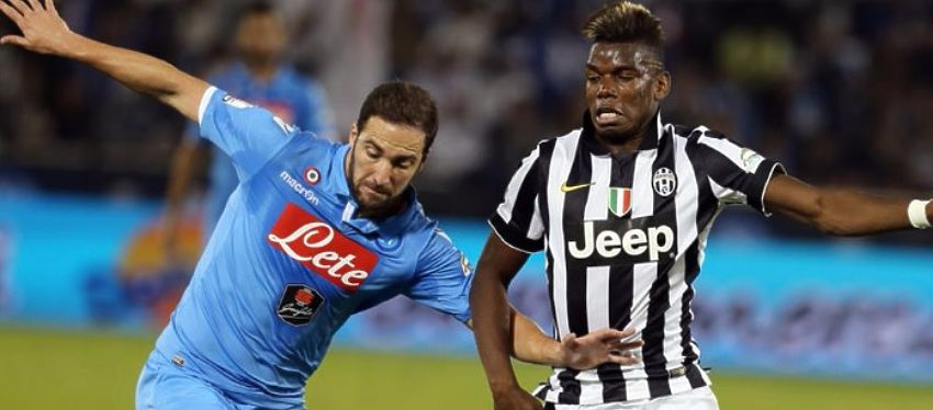 La llegada de Higuaín a la Juventus podría desbloquear la salida de Pogba rumbo al Manchester United. Foto: Twitter.