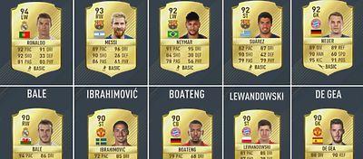 Los 10 mejores jugadores del FIFA 17