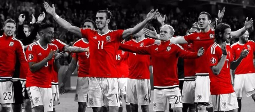Gales celebra su acceso a las semifinales de la Eurocopa. Foto: @uefaeuro.