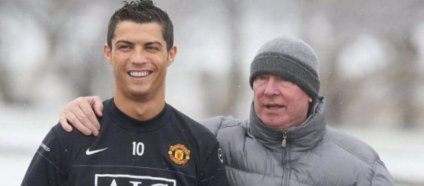 Ferguson pudo haber torpedeado la llegada de Cristiano Ronaldo al Real Madrid. Foto: @losgalacticos.