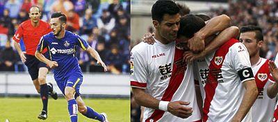 Getafe y Rayo se hunden en Segunda