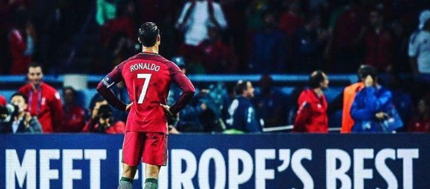 Cristiano ha hecho historia con su primer gol en esta Eurocopa, un gol que podría quedar en anécdota. Foto: @uefaeuro.