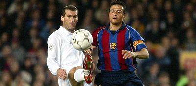 Zidane y Luis Enrique también se han visto las caras en seis ocasiones sobre un campo de fútbol. Foto: Twitter.