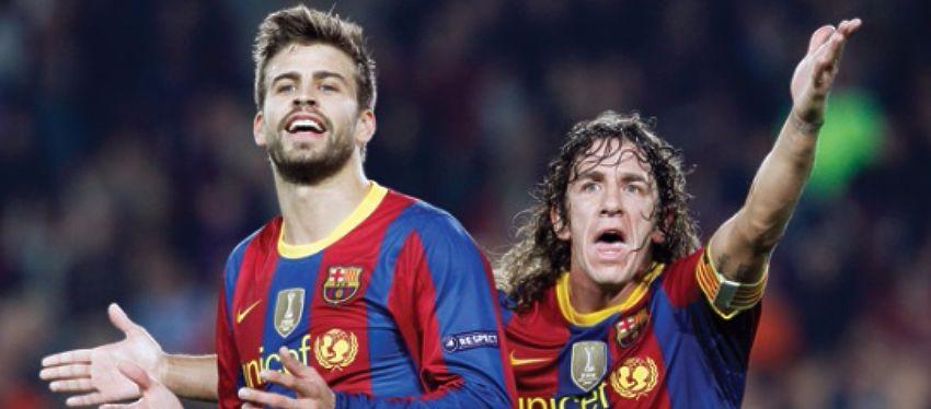 Puyol no duda a la hora de elegir entre el Barça de ahora y en el que él jugó. Foto: Twitter.