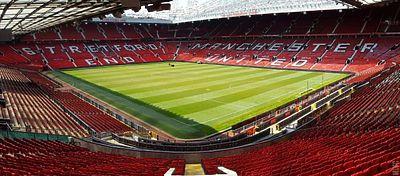 Imagen del estadio de Old Trafford. Foto: Manchester United.