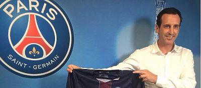 Unai Emery durante su presentación en el PSG | Foto: @PSG_inside