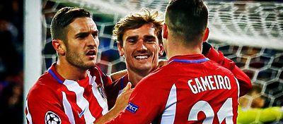 El Altético quiere seguir con su racha triunfal en Champions a costa del Bayern. Foto: Twitter.