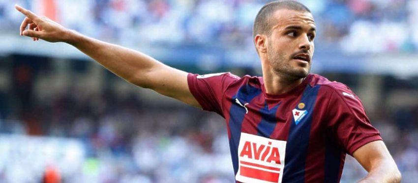 Con cinco goles, Pedro León ya es el máximo goleador del Éibar esta temporada. Foto: Twitter.