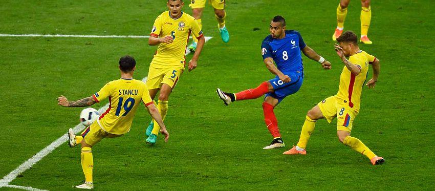 Payet rompió el empate ante Rumanía a pocos minutos del final. Foto: Sportyou.