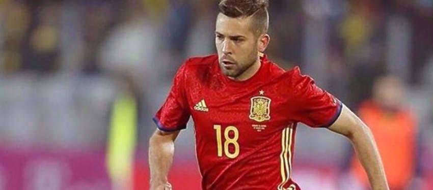 Jordi Alba, duda para el clásico