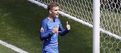 Griezmann fue fundamental en la clasificación de Francia para los cuartos de final con un doblete. Foto: Instagram.