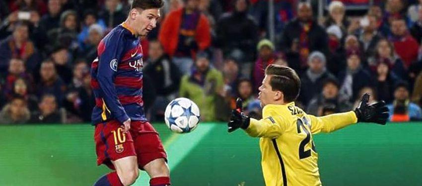 El gol de Messi ante la Roma fue el más votado por los aficionados. Foto: Twitter.