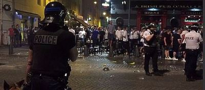 England fans, who began arriving Thursday afternoon to Marseilles