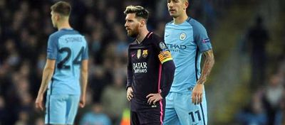 Messi volvió a marcar pero no fue suficiente para doblegar al City. Foto: Twitter.