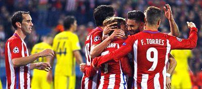 El Atlético ya ha igualado los números que le llevaron a la final de Lisboa hace dos temporadas. Foto: @Atleti.
