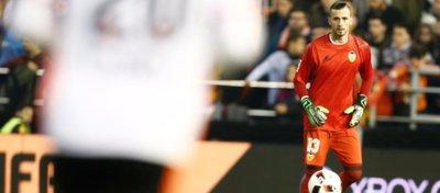 Jaume Doménech no pierde la esperanza en el equipo. Foto: Valencia CF.