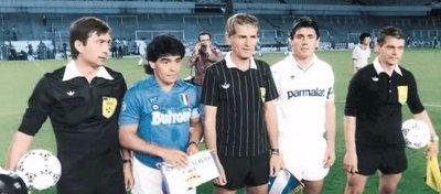 Nápoles y Madrid volverán a verse las caras 30 años después. Foto: Defensa Central.