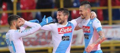 El Nápoles llegará como un tiro al Bernabéu. Foto: Mundo Deportivo.