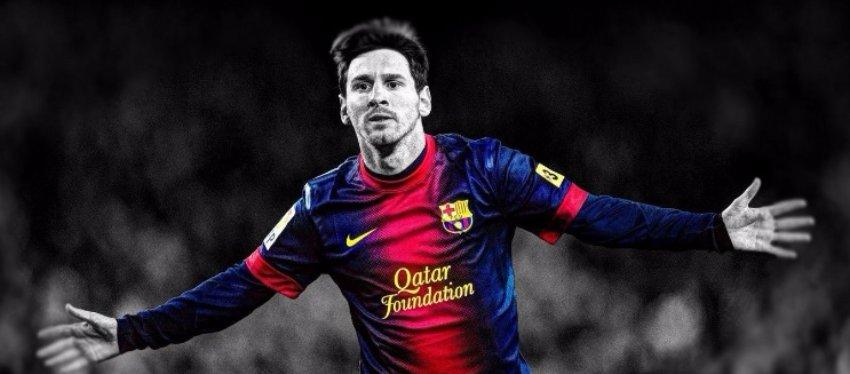 Messi, un crack que no todos querrían en su equipo. Foto: Twitter.