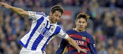 Granero y Messi volverán a verse las caras este fin de semana. Foto: Twitter.