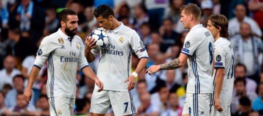 Cristiano Ronaldo volvió a ser decisivo ante el Bayern. Foto: Twitter.