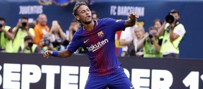 Neymar, protagonista en el primer partido de la pretemporada del Barça. Foto: FC Barcelona.