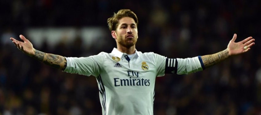 Sergio Ramos, capitán del Real Madrid. Foto: Twitter.