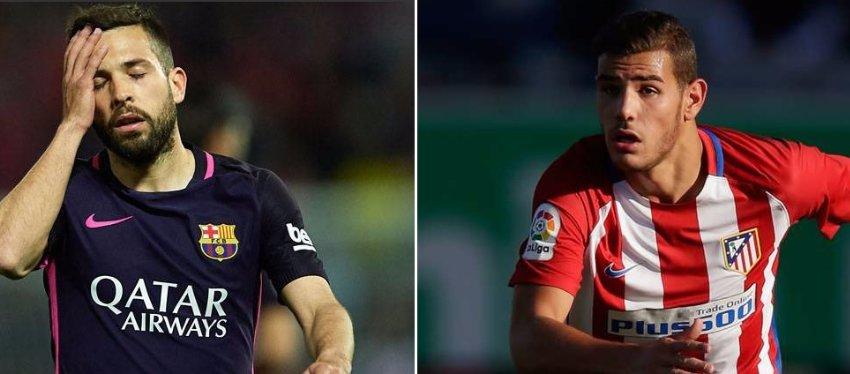 Jordi Alba podría ser la llave para la llegada de Theo Hernández a Barça