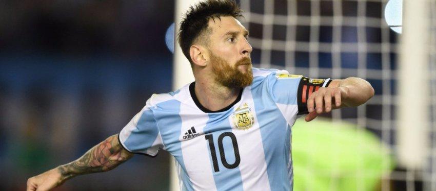 Messi apareció cuando su país más lo necesitaba. Foto: Spherasports.
