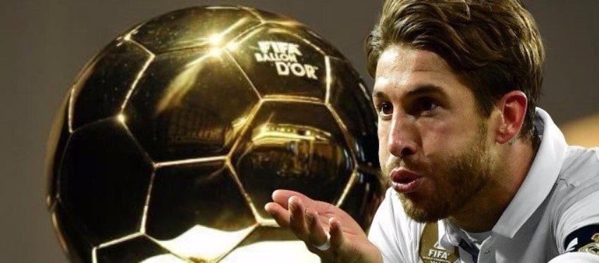 Sergio Ramos no duda en quién se llevará el Balón de Oro. Foto: Intereconomia.