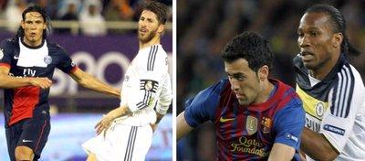 PSG-Madrid y Chelsea-Barça, dos duelos por todo lo alto en los octavos de Champions.