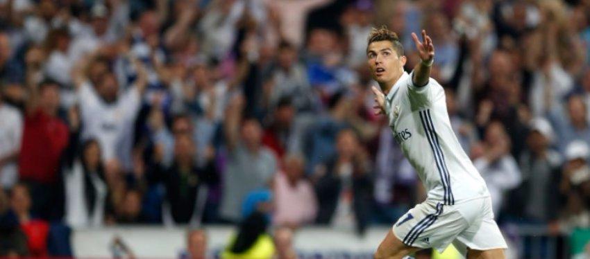 Cristiano Ronaldo fulminó al Atlético de Madrid. Foto: Twitter.