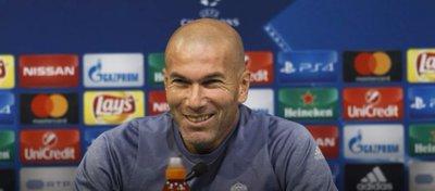 Rueda de prensa de Zinedine Zidane | Foto: Twitter Real Madrid