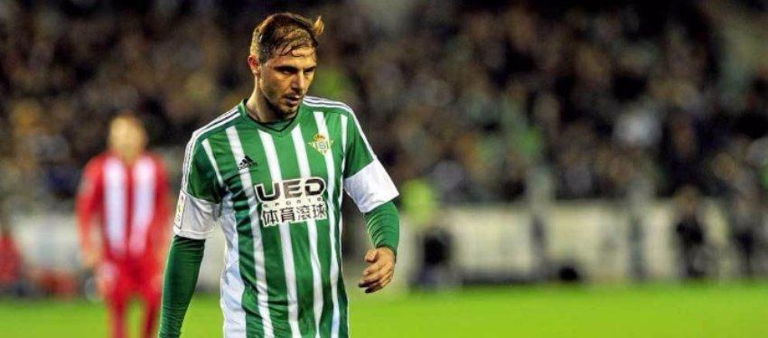 Joaquín, triste por no haber jugado en el Madrid
