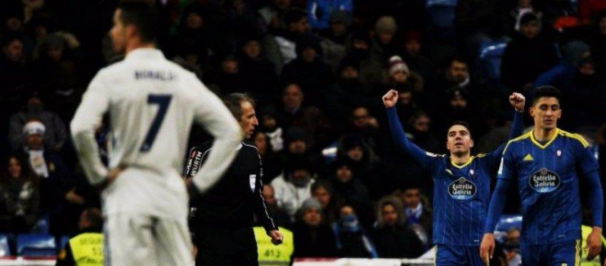 Iago Aspas, el gran protagonista en la victoria del Celta en el Bernabéu. Foto: Twitter.