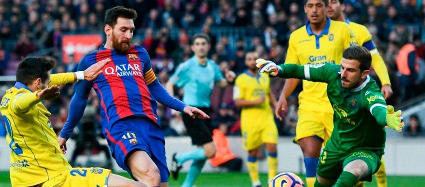 Barcelona y Las Palmas no se verán hoy sobre el césped del Camp Nou. Foto: Twitter.