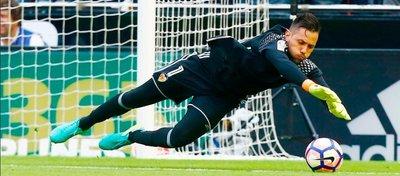Diego Alves abandona el fútbol español tras diez temporadas. Foto: Valencia CF.