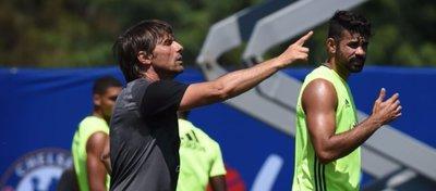 El pique entre Costa y Conte podría acabar con el delantero en China