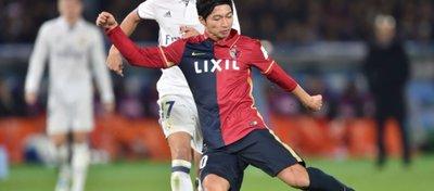 Shibasaki, autor de un doblete ante el Madrid en el Mundialito, podría llegar a LaLiga