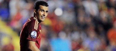 Pedro, dispuesto a seguir peleando por un sitio en el once titular. Foto: Twitter.