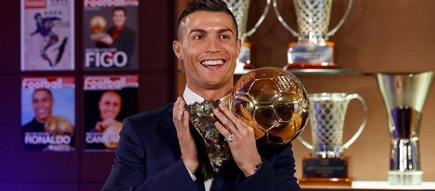 Cristiano Ronaldo sumará hoy su quinto Balón de Oro. Foto: Twitter.